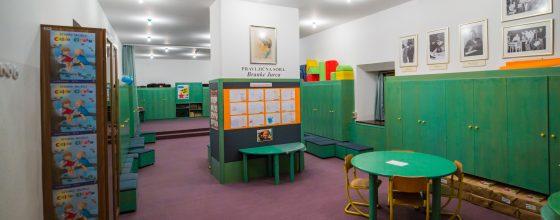 Pravljična soba Branke Jurca, Mladinski oddelek